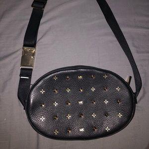 Michael Kors Studded Leather Belt Bag